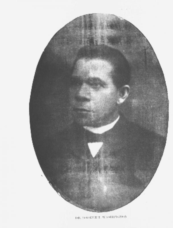 Photograph of Dr. Booker T. Washington
