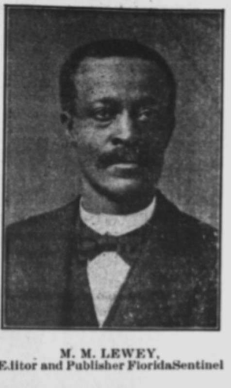 Photograph of M.M. Lewey