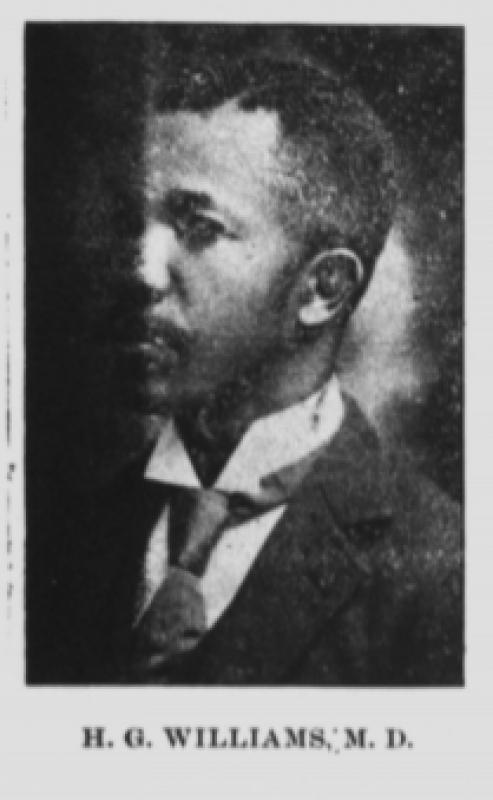 Photograph of Dr. Henry G. Williams