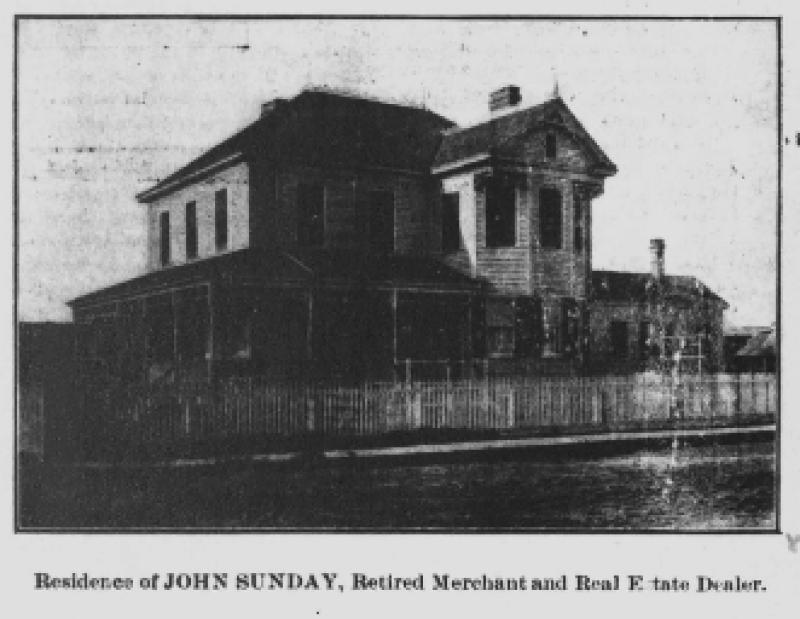 Photograph of John Sunday, Jr.'s Residence